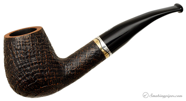 Italian Estate Savinelli Onda Sandblasted (628) (6mm)