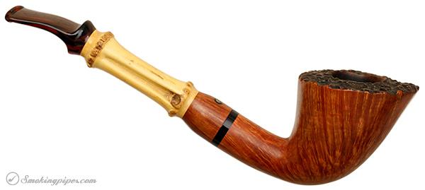 Italian Estate Tom Spanu Smooth Bent Dublin with Bamboo (F) (3) (2005)