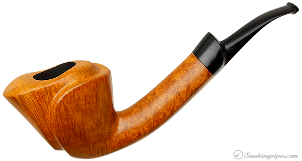 Italian Estate Mario Grandi Smooth Bent Dublin (with Case and Tamper) (Unsmoked)