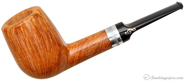 Italian Estate Don Carlos Smooth Billiard with Silver Band (One Note) (M) (35) (Unsmoked)
