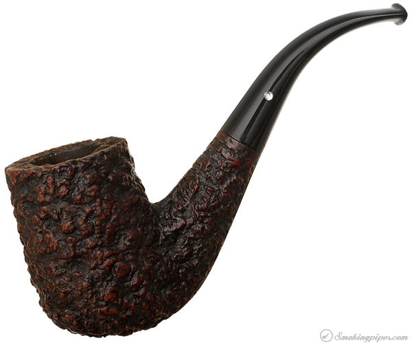 Italian Estate Castello Sea Rock Briar Bent Billiard (G) (65)