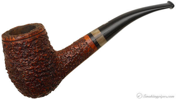 Italian Estate Ser Jacopo Rusticated Bent Egg with Horn (R1)