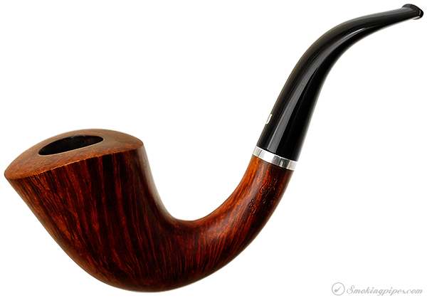 Italian Estate Ser Jacopo Smooth Bent Dublin with Silver Band (L1) (Maxima) (G)