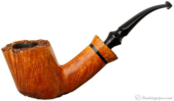 Mario Grandi Partially Rusticated Bent Dublin with Platuea