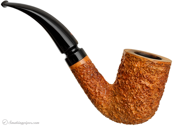 Italian Estate Ser Jacopo Rusticated Bent Billiard (R2)