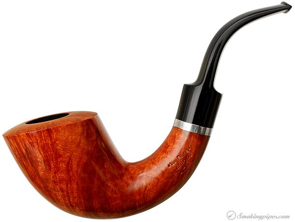 "Italian Estate Ser Jacopo ""La Fuma"" Smooth Calabash with Silver (Maxima) (Unsmoked)"