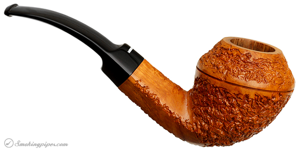 Italian Estate Don Carlos Partially Rusticated Bent Bulldog (Two Note)