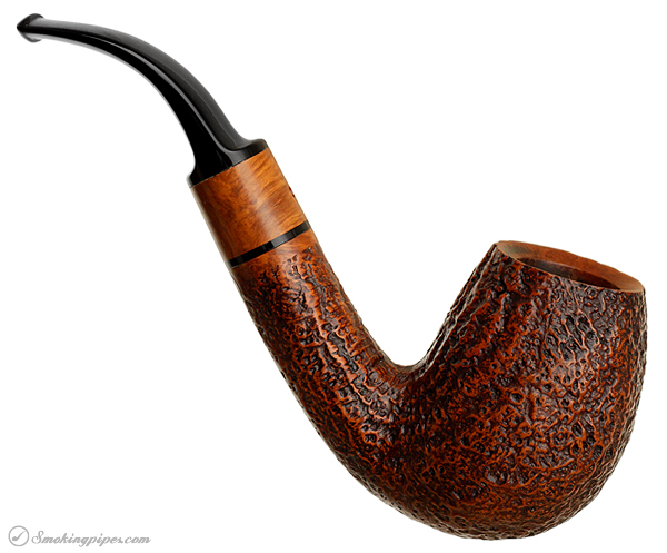 Italian Estate Ser Jacopo Sandblasted Bent Billiard (Maxima) (S2)
