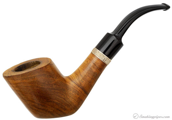 Ercole Bogni Olivewood Smooth Bent Dublin with Silver (9mm)