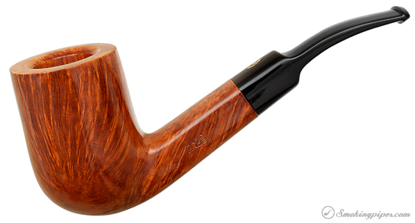 Italian Estate Savinelli Hand Made Smooth Bent Billiard (6mm) (Unsmoked)