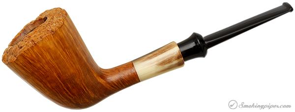 Japanese Estate Tsuge Ikebana Dublin with Horn Ferrule (H) (2004) (Unsmoked)