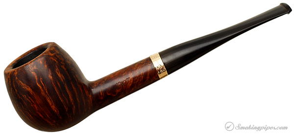 Nat Sherman Smooth Billiard with 1/20 14KT Gold Band