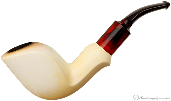 SMS Meerschaum Smooth Bent Freehand (with Case)