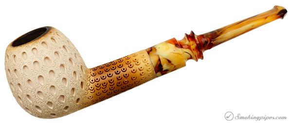 CAO Meerschaum Lattice Apple (with Case)