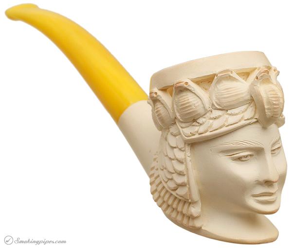 Misc. Estate Meerschaum Cleopatra (Unsmoked)