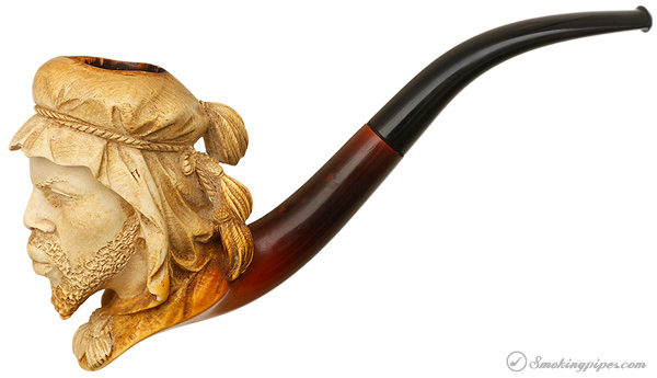 Misc. Estate Antique Meerschaum African (late 19th - early 20th c.)