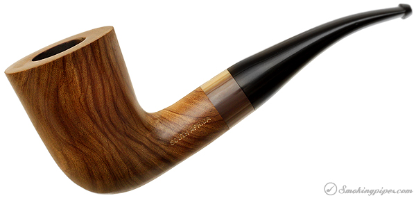 Jobert Mopane Smooth Bent Dublin with Acryilc Ferrule