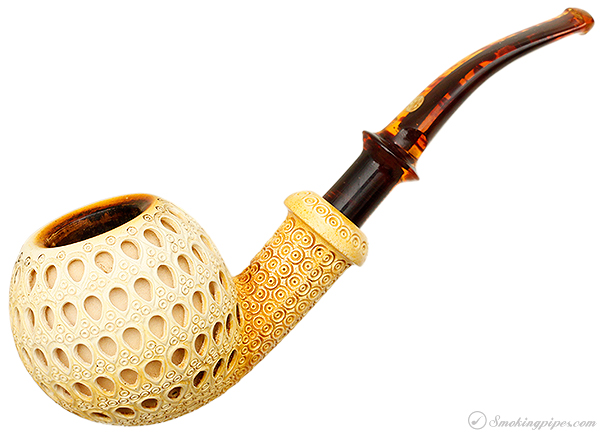 SMS Lattice Carved Bent Apple (with Case)