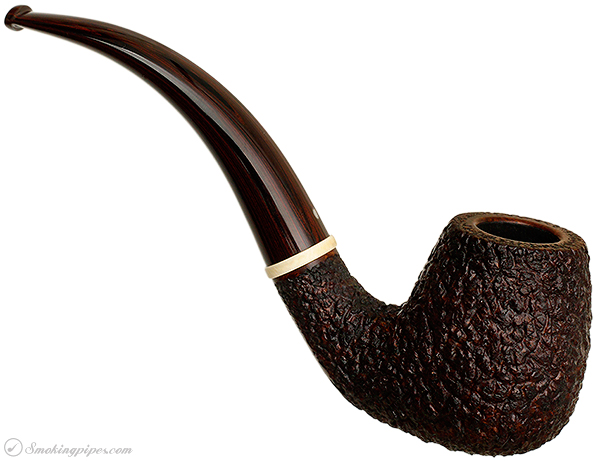 Misc. Estate Michael Parks Rusticated Bent Billiard (GKCPC 2013) (Unsmoked)