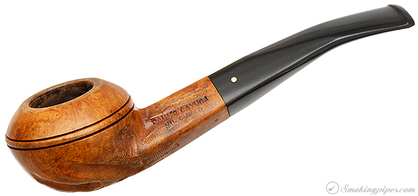 Paul's Cayuga Oil Cured Partially Rusticated Bent Bulldog (4)