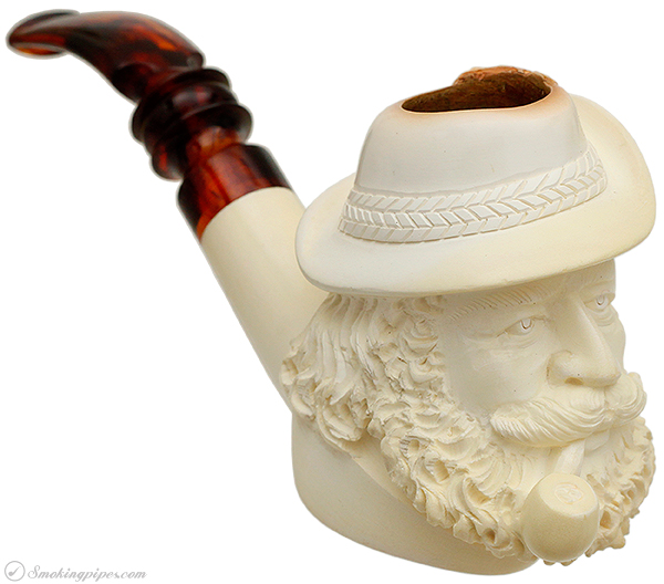 Misc. Estate SMS Man with Hat and Pipe (with Case)