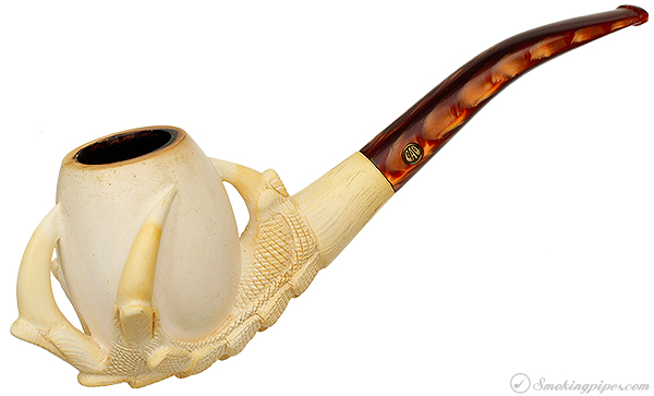CAO Meerschaum Dragon's Claw with Egg (with Case)