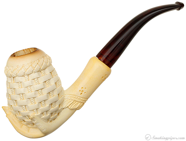 Unknown Meerschaum Hand with Basket (with Case)