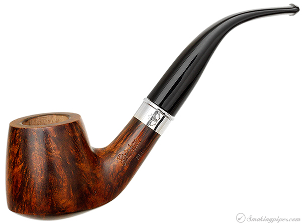 Brigham Smooth Bent Pot with Silver (584) (Rock Maple Insert)