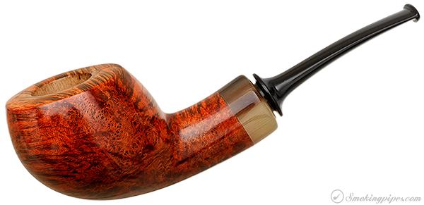 Misc. Estate Gregor Lobnik Smooth Bent Pot with Horn