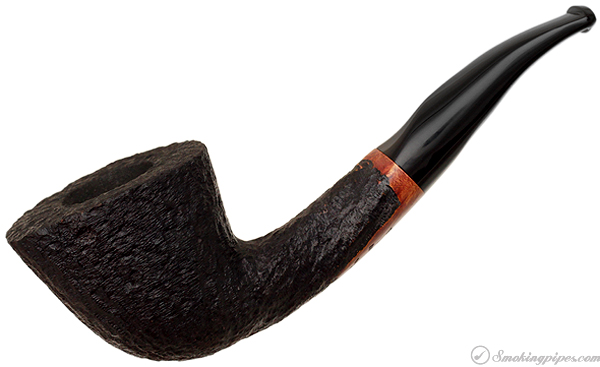 American Estate Randy Wiley Galleon Rusticated Bent Dublin (33) (Unsmoked)