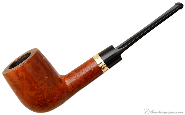 Parkleigh Smooth Billiard with 14K 1/40 R.G. Gold Band
