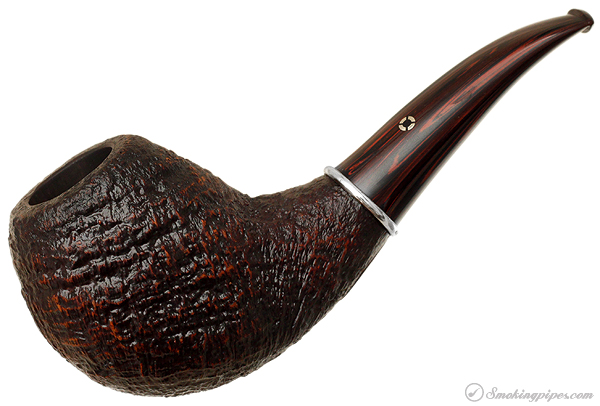 American Estate Larry Roush Sandblasted Bent Apple with Silver (S2) (1634) (2009)