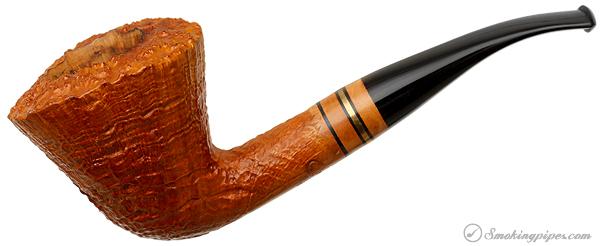 American Estate American Smoking Pipe Company Sandblasted Bent Dublin (Reg. No.)