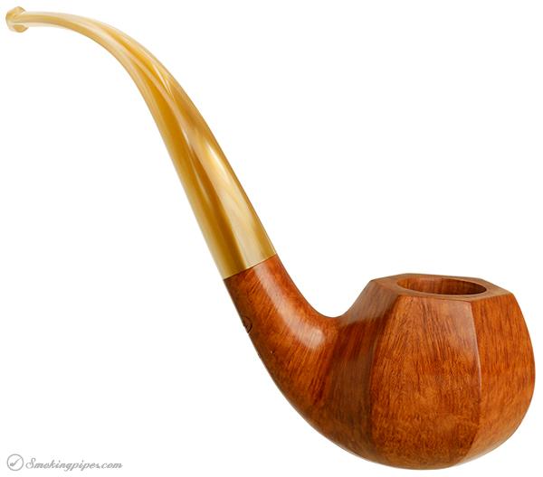 American Estate American Smoking Pipe Company Smooth Bent Paneled Apple (Reg. No.) (Unsmoked)