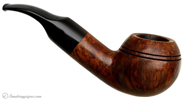 American Estate American Smoking Pipe Company Smooth Rhodesian (Curt Rollar) (Reg. No) (1987)
