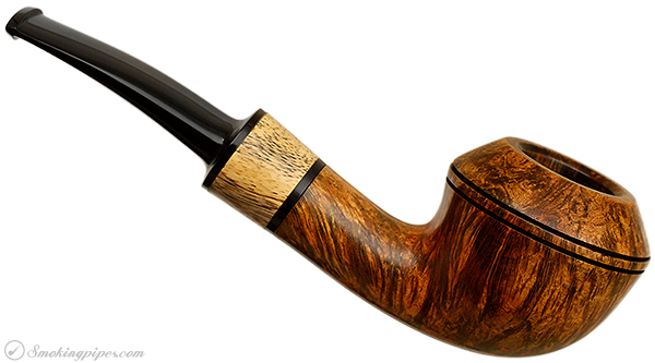 American Estate Jerry Crawford Smooth Bent Rhodesian with Maple (263)