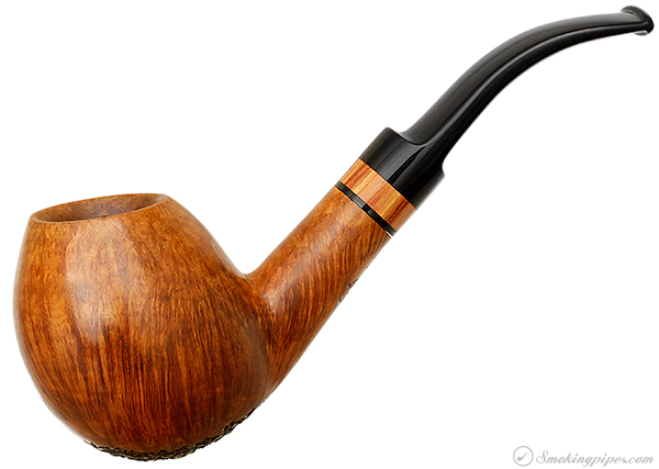 Kirk Bosi Partially Rusticated Bent Egg (B) (S 25. 03)