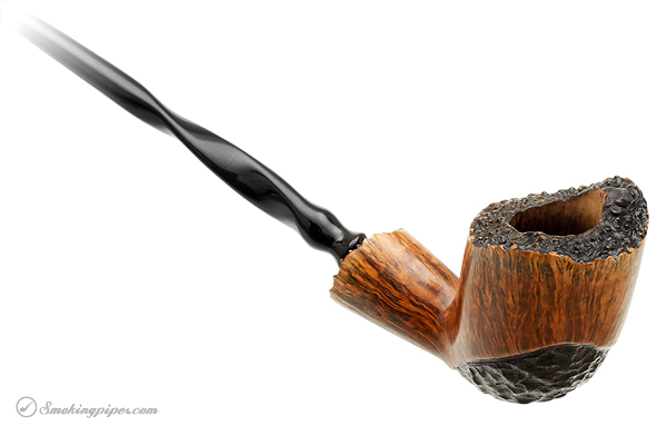 American Estate J. M. Boswell Partially Rusticated Freehand Churchwarden (2010)
