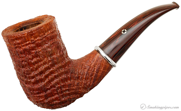American Estate Larry Roush Sandblasted Bent Chimney with Silver (S3) (895) (2004)