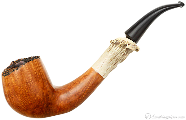 American Estate Unstamped Smooth Freehand with Antler (Tom Cooke)