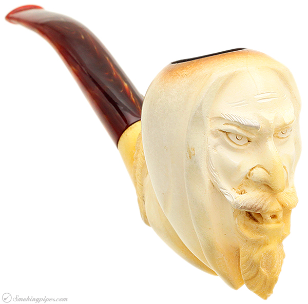 Turkish Estates CAO Meerschaum Angry Jester (with Case)
