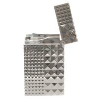 Lighters S.T. Dupont Lighter Ligne 2 Palladium Diamond Head
