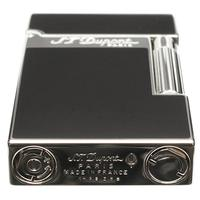 Lighters S.T. Dupont Lighter Ligne 2 Palladium Black Lacquer