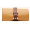Claudio Albieri Roll Up Tan/Chestnut Italian Leather