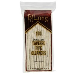 B. J. Long Regular Tapered Pipe Cleaners (100 pack)