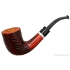 Sandblasted Bent Dublin with Silver Ring (06) (AR)