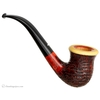 Caminetto Sandblasted Calabash with Olivewood Cap (06) (AR)