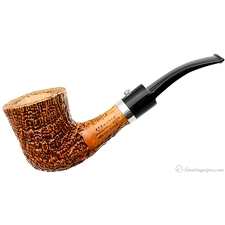 Sandblasted Bent Dublin with Silver
