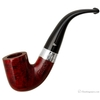 Peterson Sterling Silver Red Smooth (338) (9mm) Fishtail