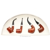 Adventures of Sherlock Holmes Smooth 4 Pipe Set